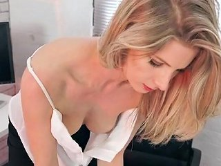 AlphaPorno Porno - Gorgeous Secretary Went Braless For You Today