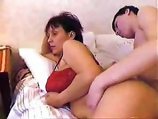 BravoTube Porno - Russian Step-mom Wakes Up Her Step-son With A Hardcore Fucking