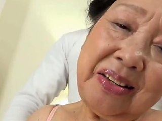 VPorn Porno - Japanese Grandma Kurosaki Reiko 80 Brthday