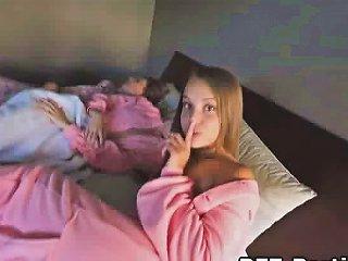 DrTuber Porno - Leaked Foursome Pajama Fuck Party
