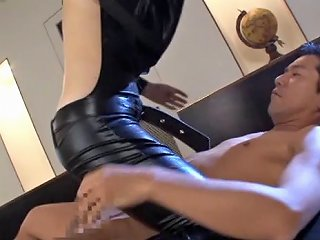 BravoTeens Porno - Beautiful Asian Babe Wearing Latex Is Ready To Be In A Threesome