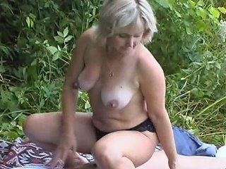 BravoTube Porno - Lewd Milf Sneaks Her Much Younger Stud To The Woods A Fir A Hardcore Shagging