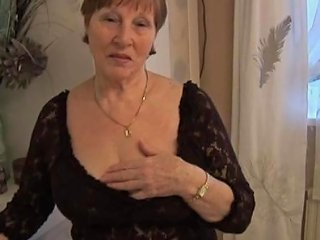 TNAFlix Porno - Hairy Granny In Crotchless Panties Posing Porn Videos