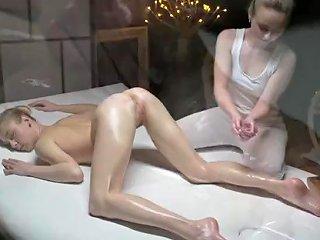 YouPorn Porno - Massage Rooms Sensual Orgasms For Beautiful Natural Tits Teen Lesbians