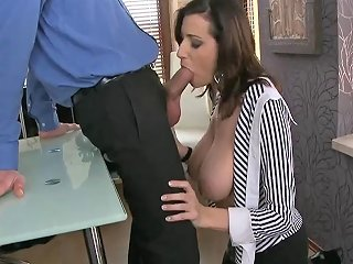 XHamster Porno - Horny Secretary With Massive Boobs Fucked By Manager