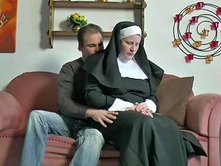 XHamster Porno - German Young Boy Seduce Granny Nun To Fuck Him Hd Porn 80